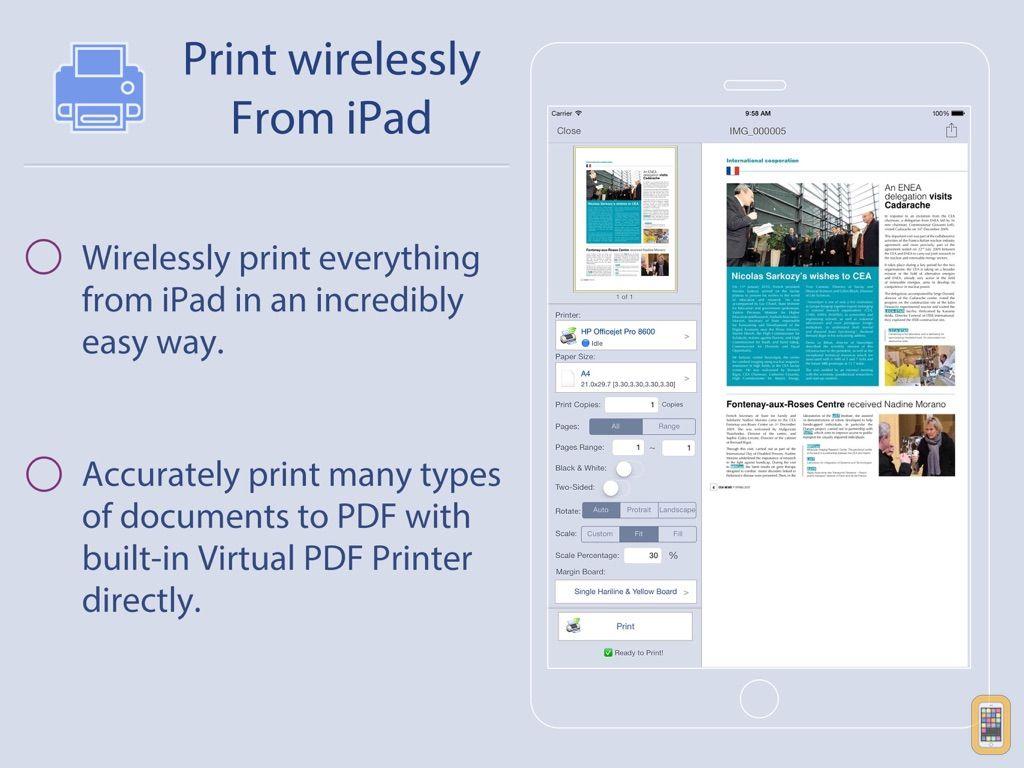 Screenshot - Quick Print for iPad