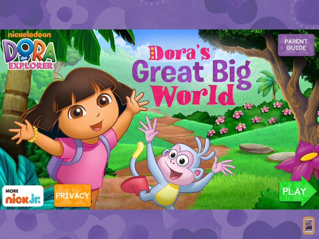Screenshot - Dora's Great Big World HD