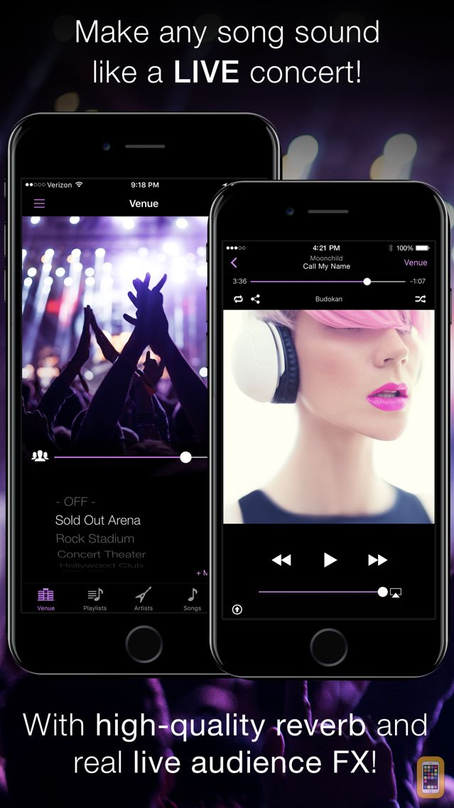 Screenshot - LiveTunes - Concert FX Player