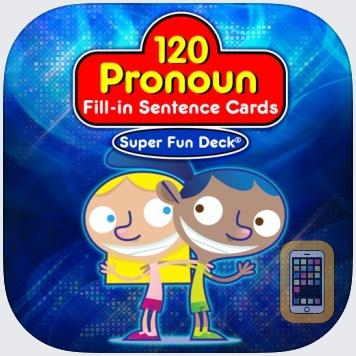 Pronoun Fill-In Super Fun Deck by Super Duper Publications (Universal)