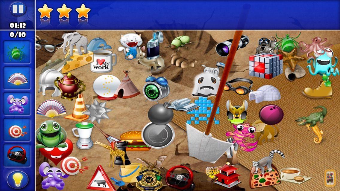 Screenshot - Hidden Object - Will you find them all ?