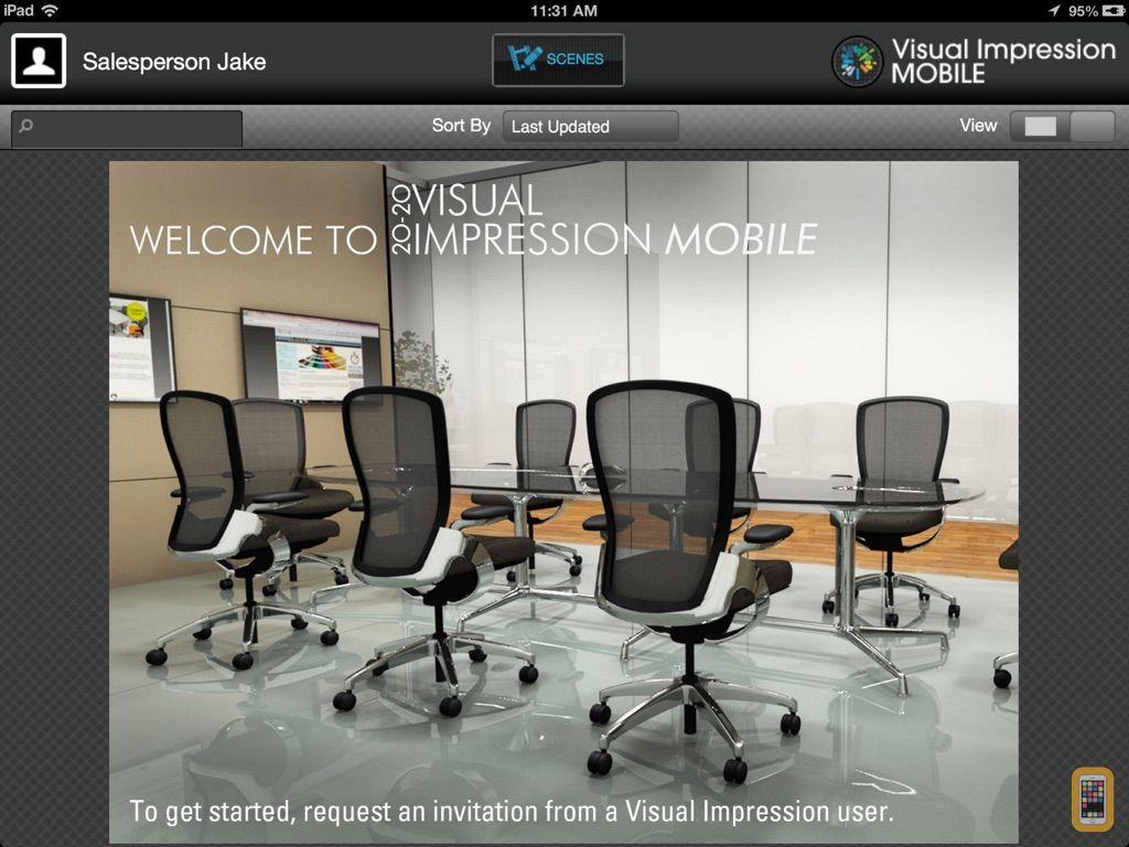 Screenshot - Visual Impression Mobile