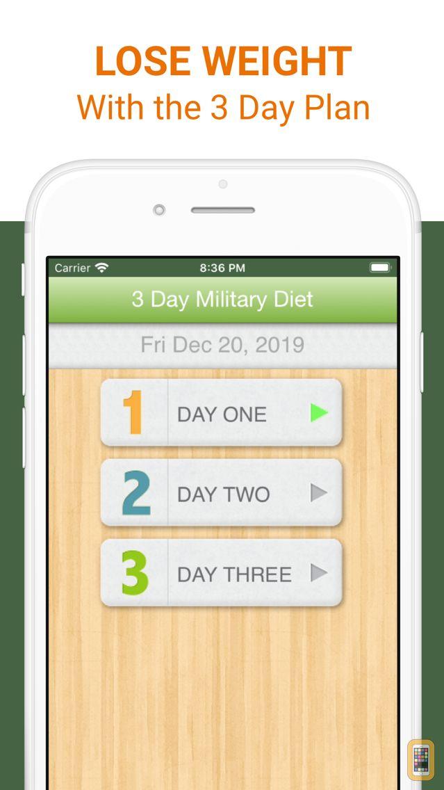 Screenshot - 3 Day Military Diet