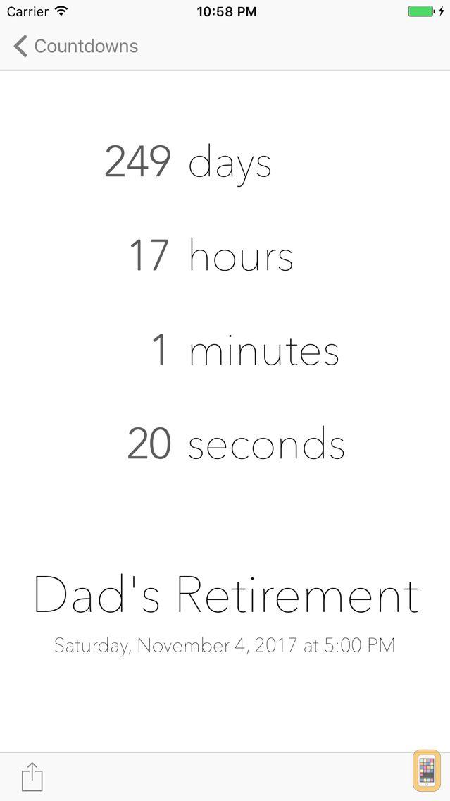 Screenshot - DownCount Countdown Timer