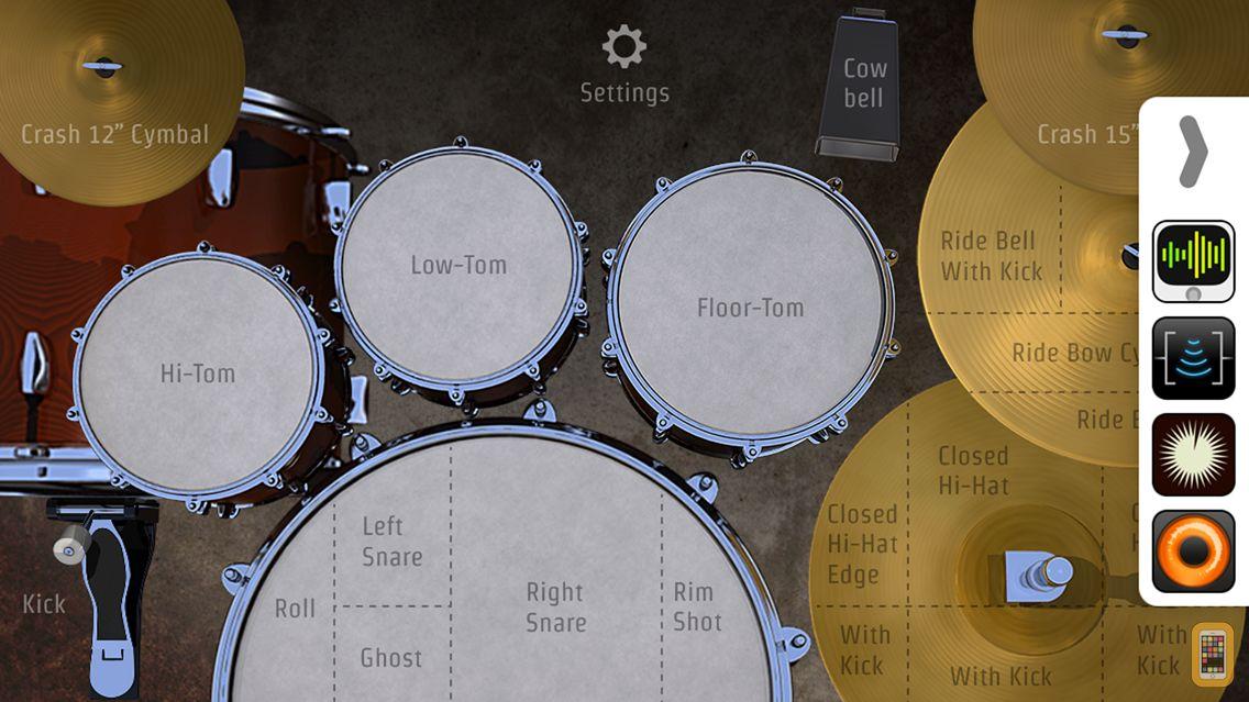 Screenshot - DrumKick for iPhone