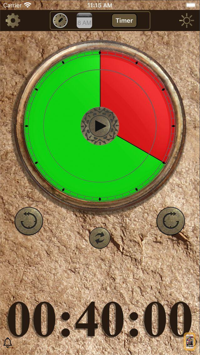 Screenshot - SessionTRAC Time Remaining Awareness Clock