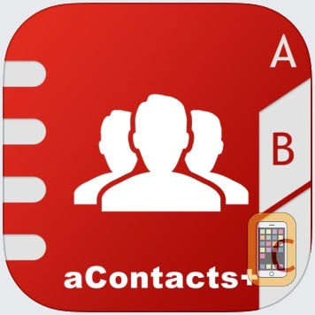 aContacts - All-in-One Contact & Group Manager by Rebirth Apps (Universal)