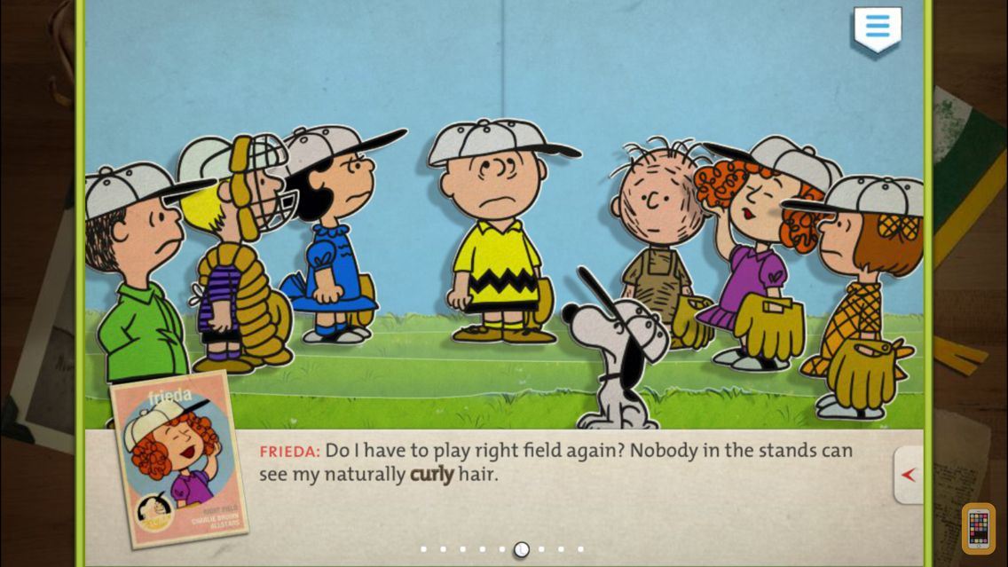 Screenshot - Charlie Brown's All Stars! - Peanuts Read and Play