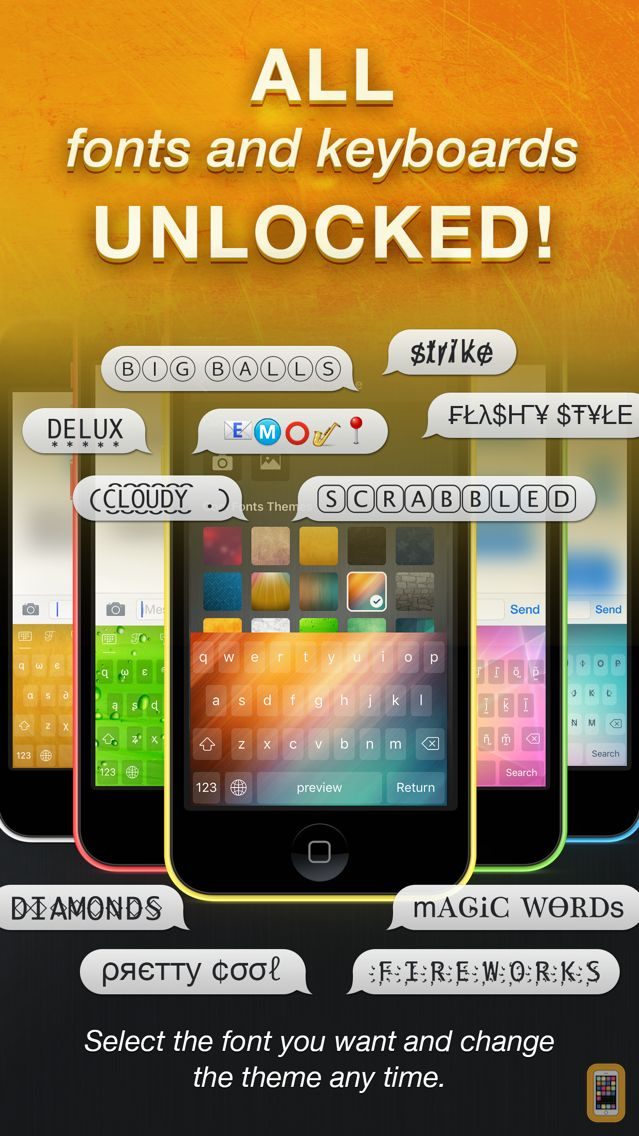 Screenshot - Cool Fonts Pro - Font Keyboard