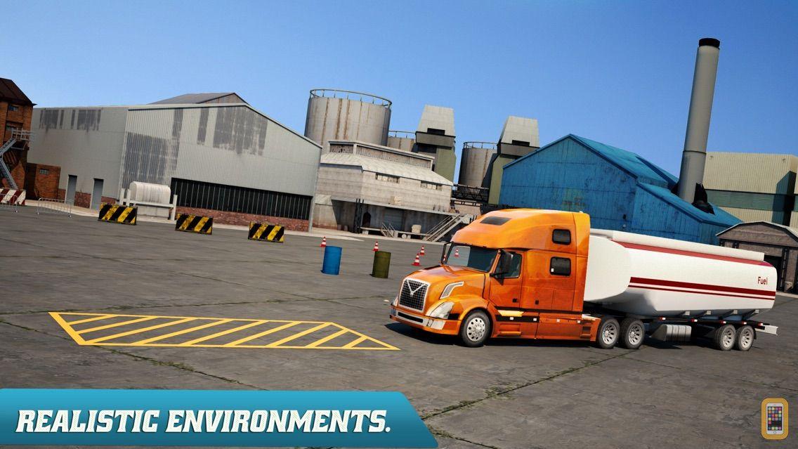 Screenshot - Trucker Parking 3D