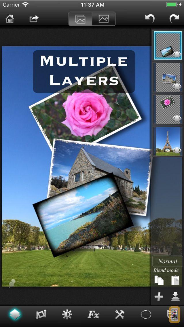 Screenshot - Leonardo - Layers, Selection and Masking