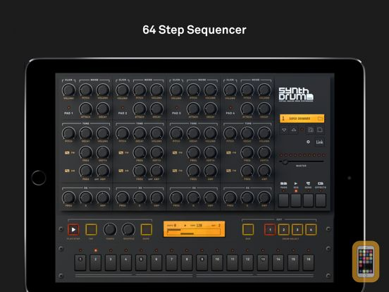 Screenshot - SynthDrum Pads