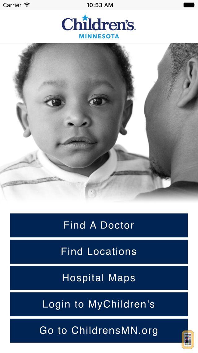 Screenshot - Children's Hospitals and Clinics of Minnesota
