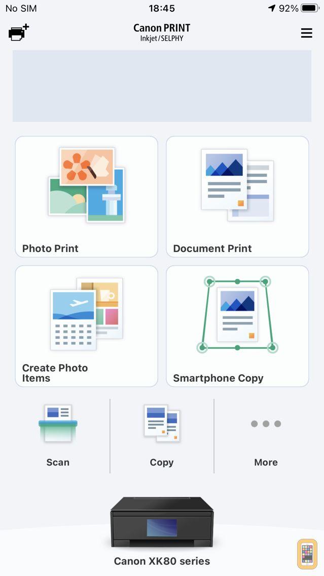 Screenshot - Canon PRINT Inkjet/SELPHY