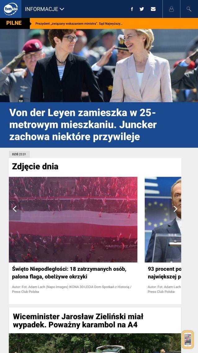Screenshot - TVN24