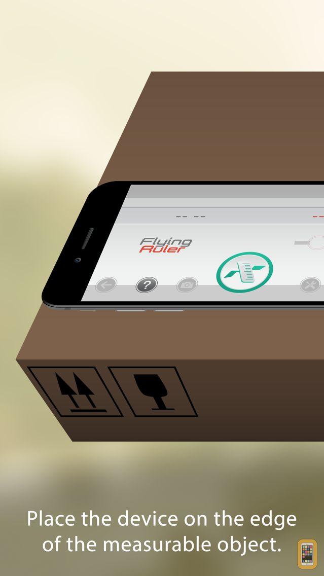 Screenshot - Flying Ruler Pro