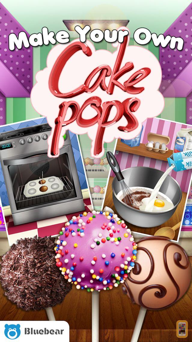 Screenshot - Cake Pop Maker by Bluebear