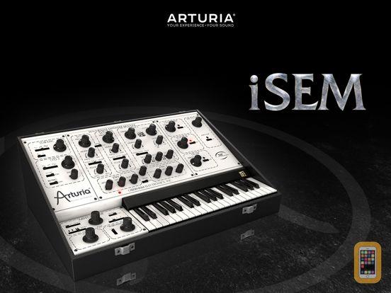 Screenshot - iSEM Synthesizer