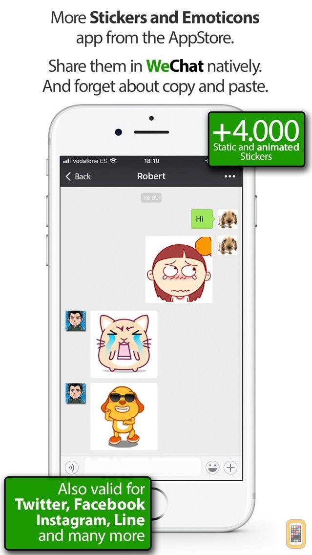Screenshot - Stickers for WeChat