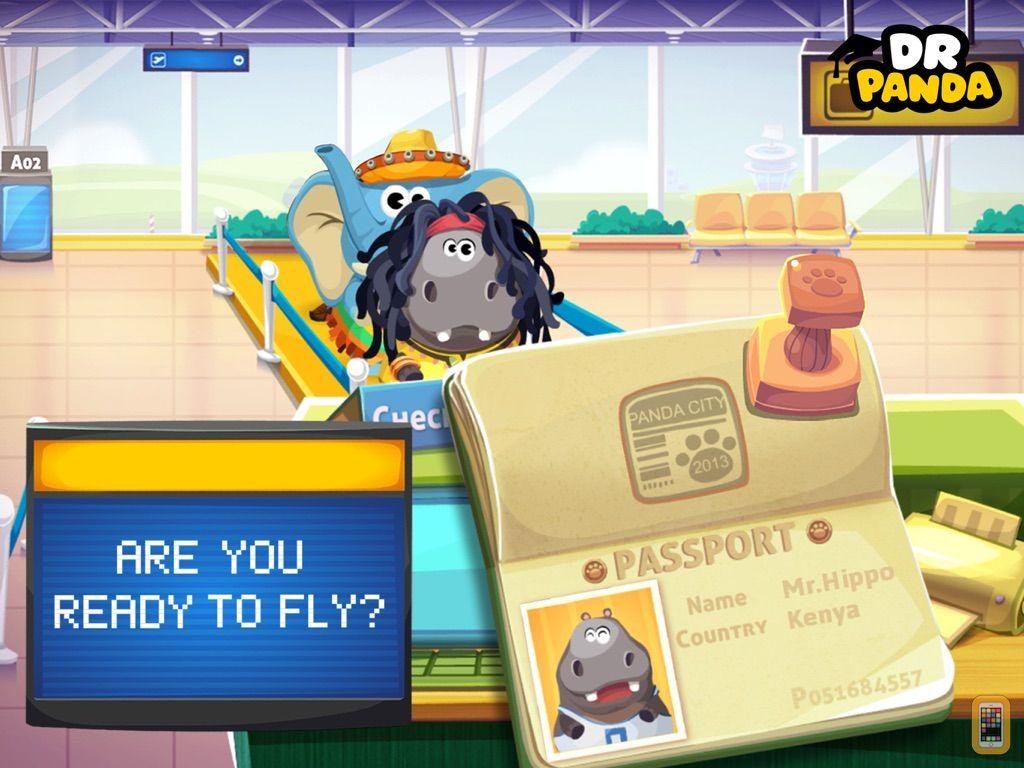 Screenshot - Dr. Panda Airport