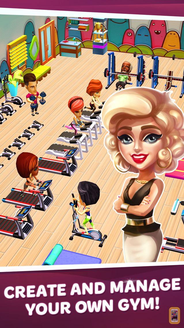 Screenshot - Dream Gym – Build Your Own Fitness Empire!