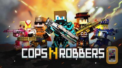 Screenshot - Cops N Robbers (FPS): 3D Pixel