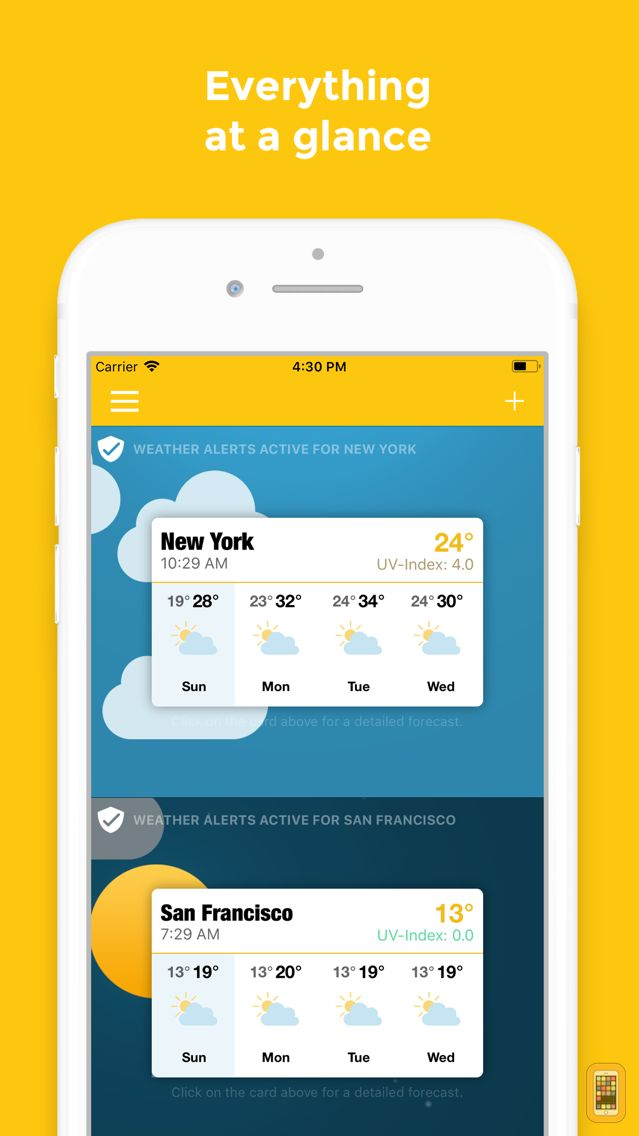 Screenshot - WeatherWheel: Alerts, Forecast