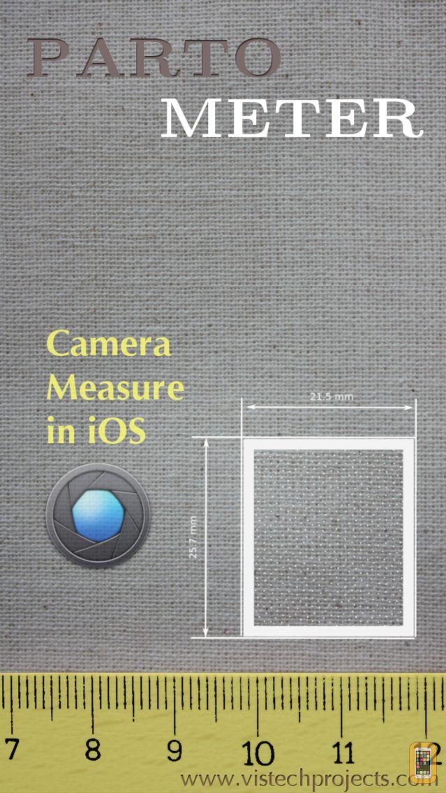 Screenshot - Partometer - camera measure