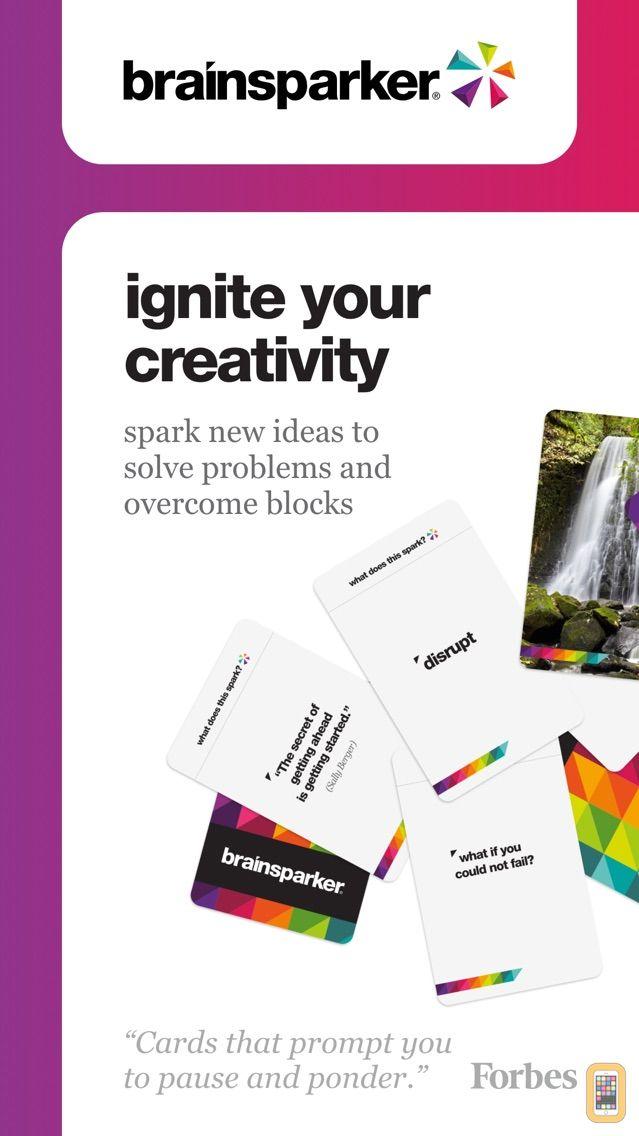 Screenshot - Brainsparker Creativity Cards