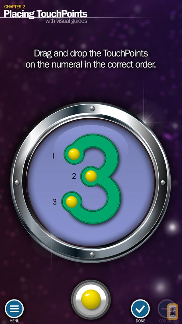 Screenshot - Touching/Counting Patterns Lite - TouchMath Adventures
