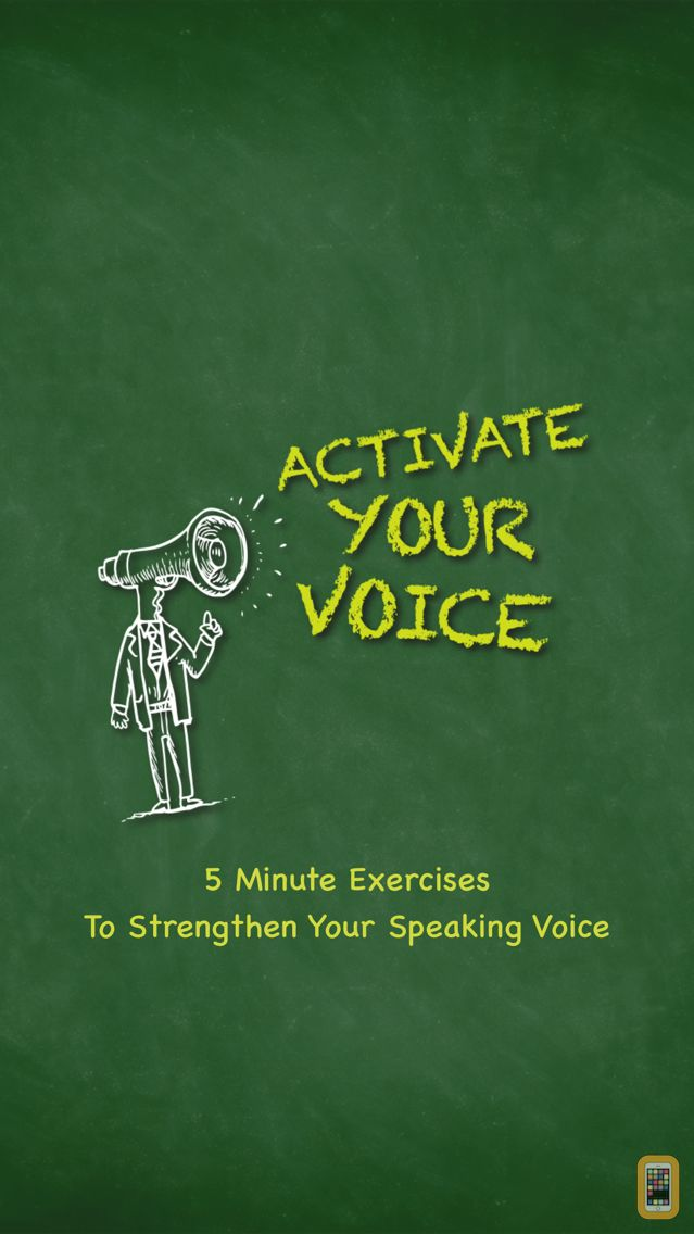 Screenshot - Activate Your Voice