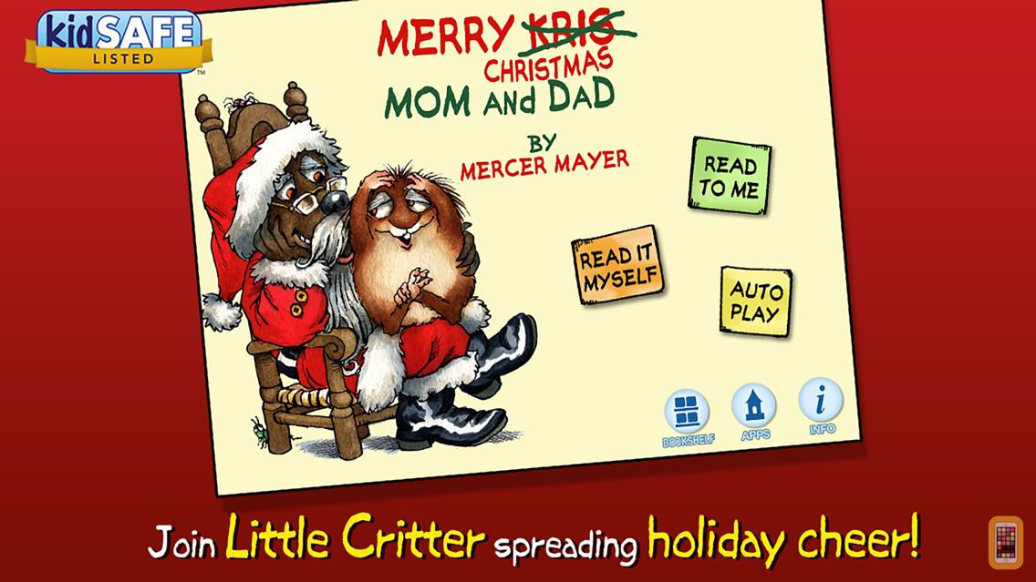 Screenshot - Merry Christmas Mom and Dad - Little Critter