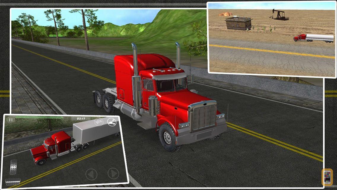 Screenshot - Truck Driver Pro : Real Highway Racing Simulator