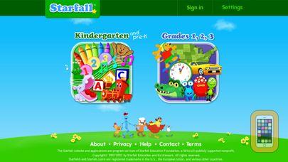 Screenshot - Starfall.com