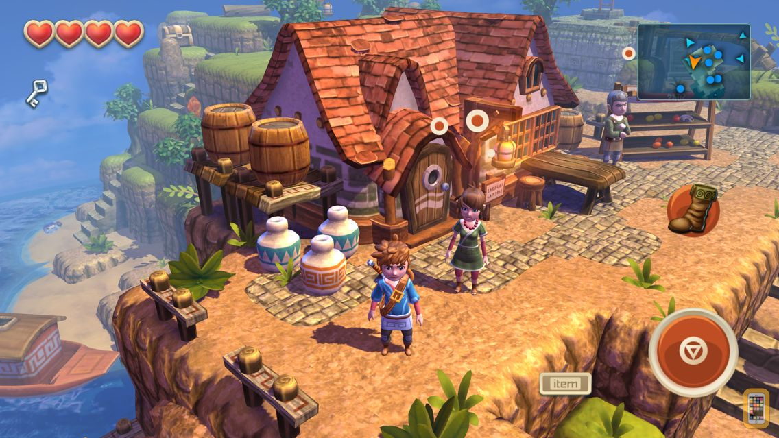 Screenshot - Oceanhorn ™
