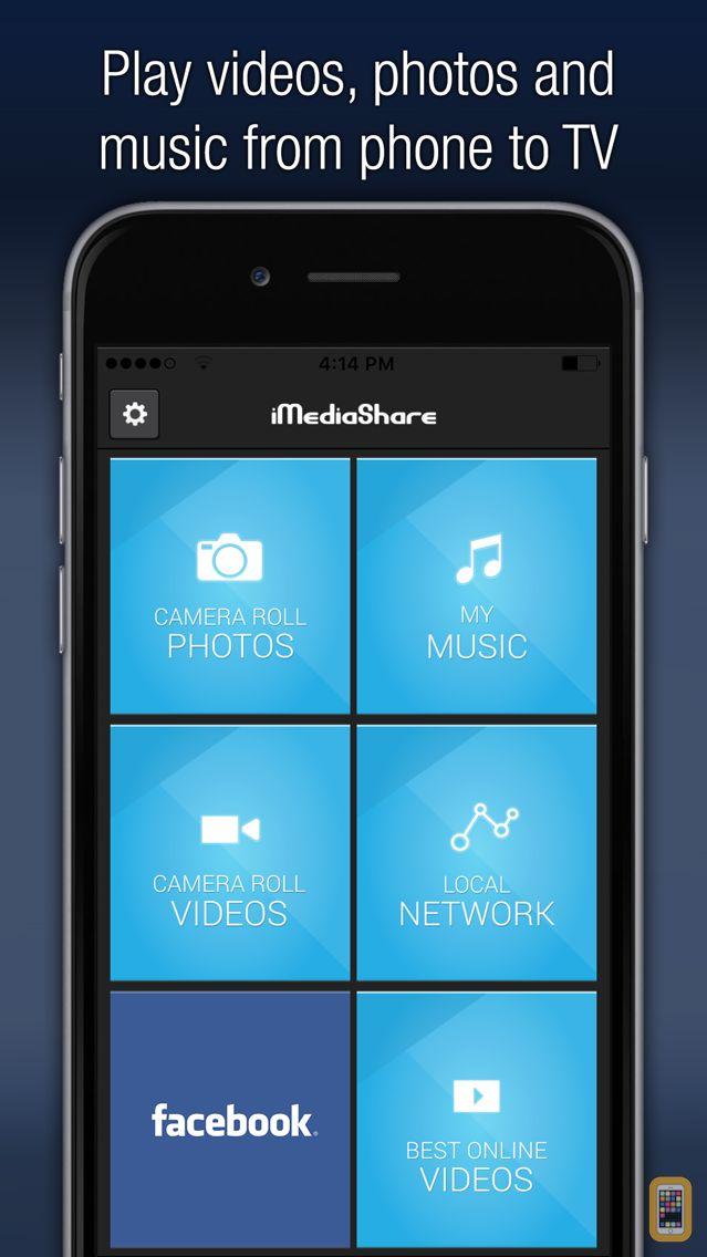 Screenshot - iMediaShare