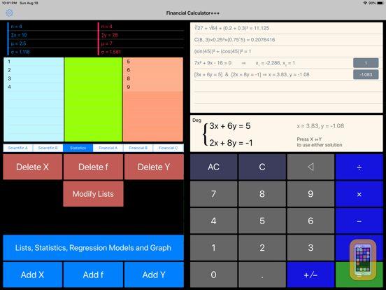 Screenshot - Financial Calculator+++