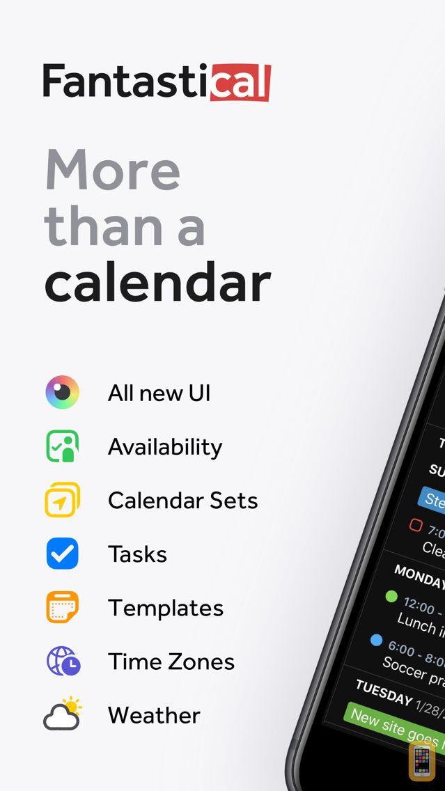 Screenshot - Fantastical 2 for iPhone