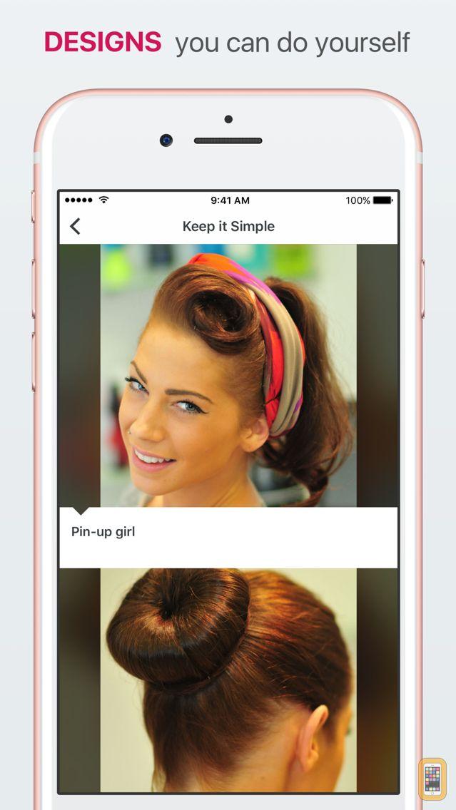 Screenshot - Hair Designs - Learn How to Style your Hair, Try on Trendy New Braids & Updos and Create Beautiful Hairstyles for Any Occasion - DIY Hairstyle Ideas with Step by Step Tutorials, Tips & Tricks