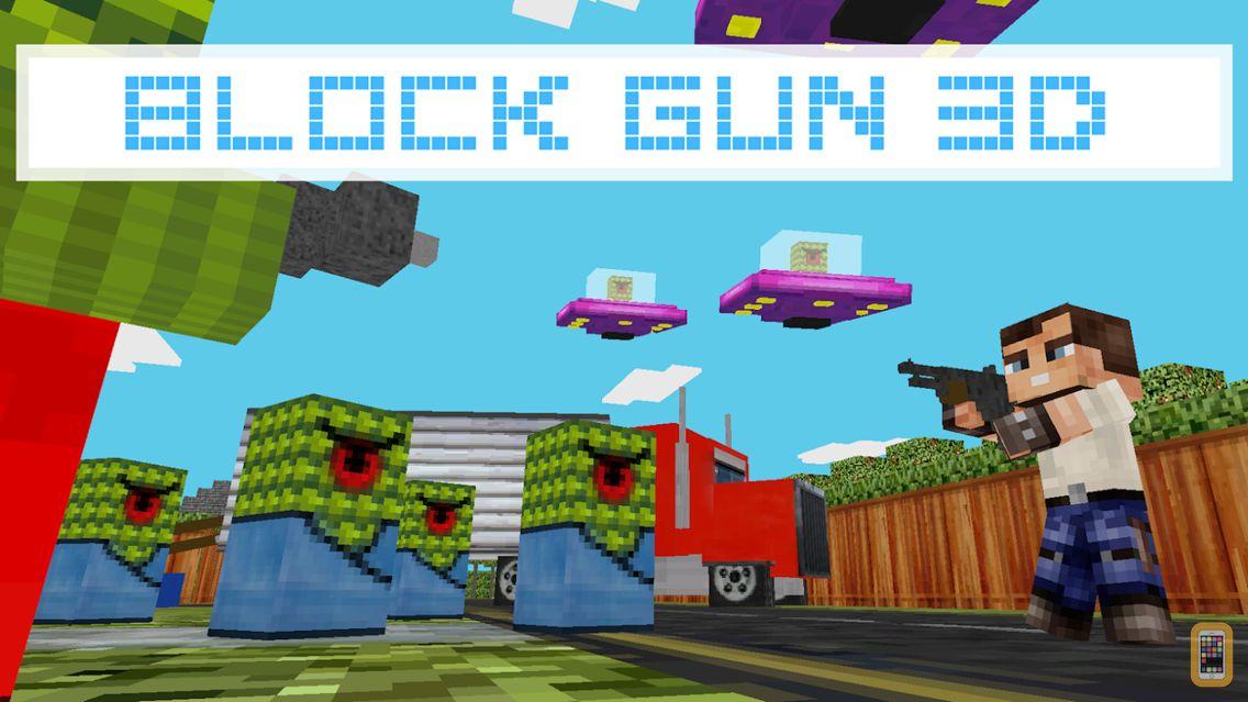 Screenshot - Block Gun 3D - Free Pixel Style Survival Shooter