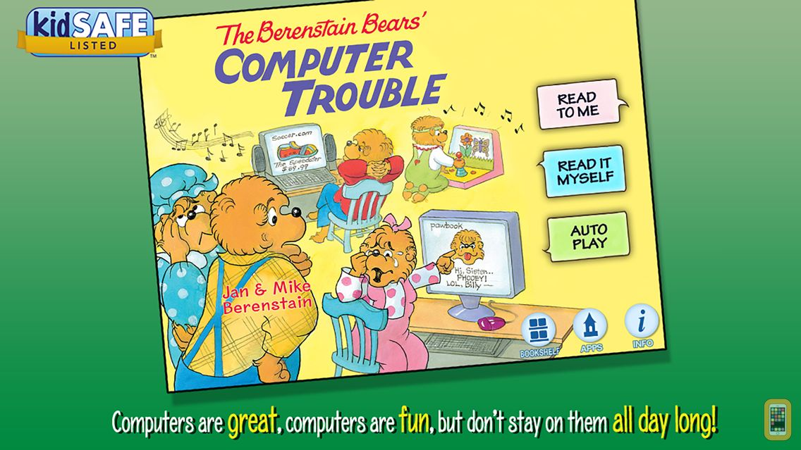 Screenshot - The Berenstain Bears Computer Trouble