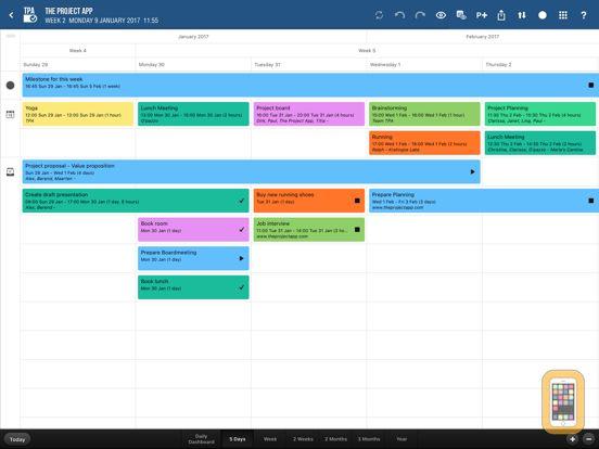 Screenshot - Project App