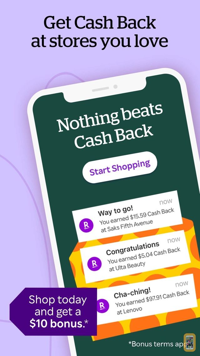 Screenshot - Rakuten: Cash Back & Coupons