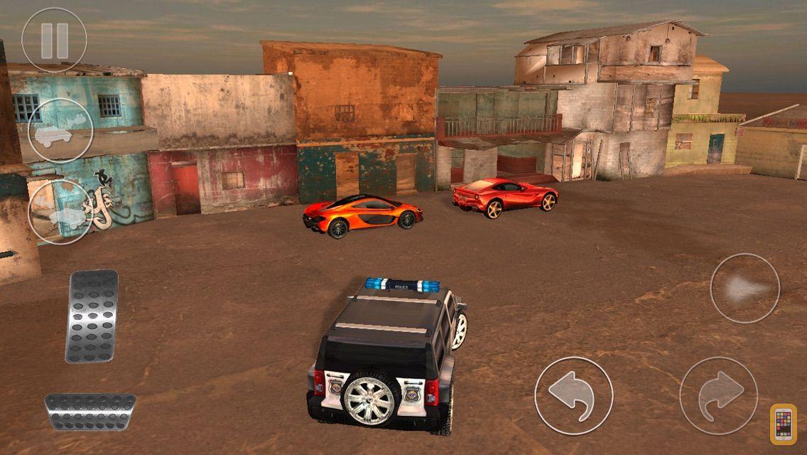 Screenshot - Mad Cop 4 : Hummer 4x4 Street Racing