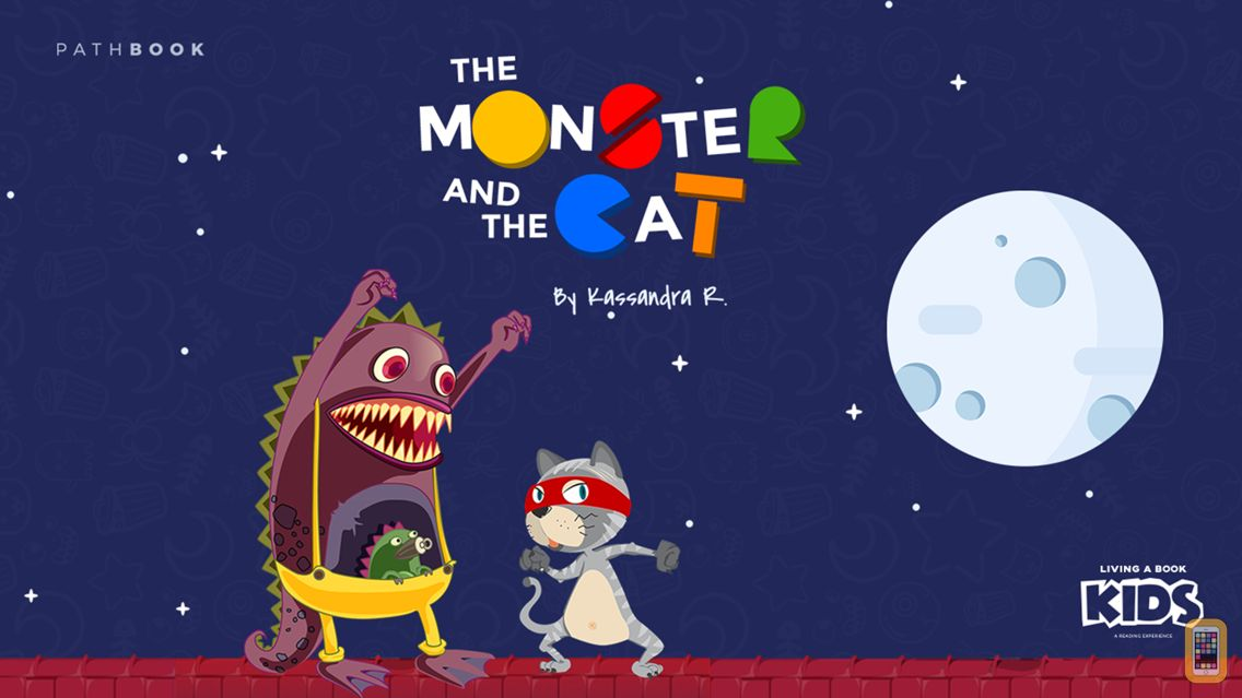 Screenshot - Monster and Cat - Interactive story Play Book game