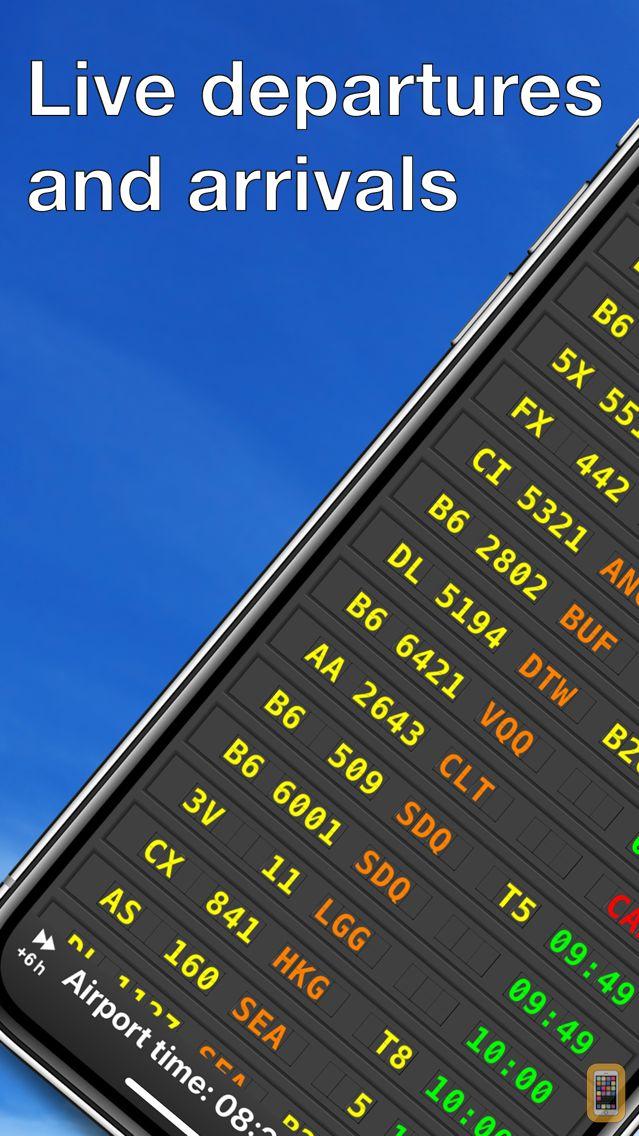 Screenshot - mi Flight Board Pro - Airport