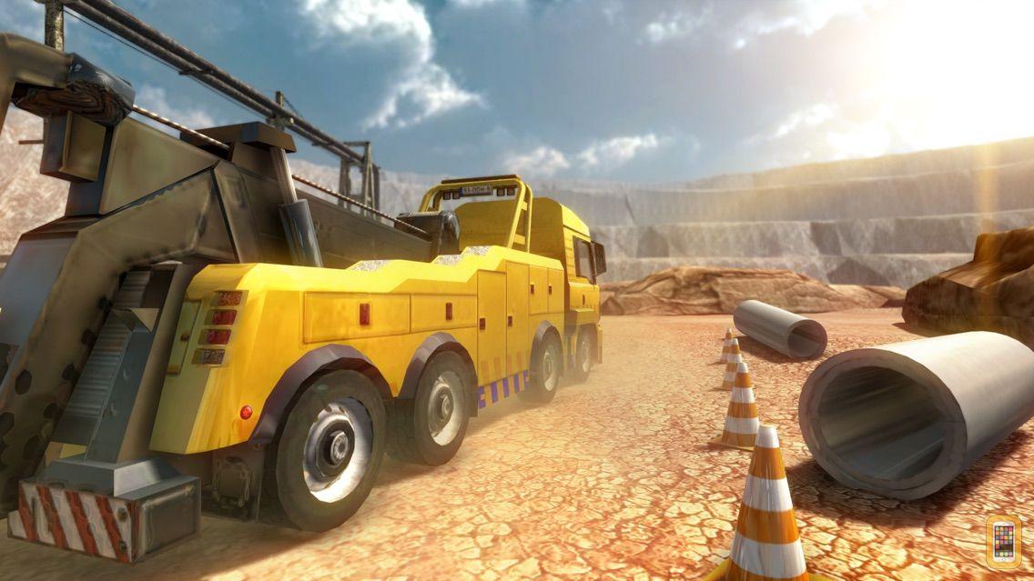 Screenshot - Construction Crane Parking - Realistic Driving Simulator Free
