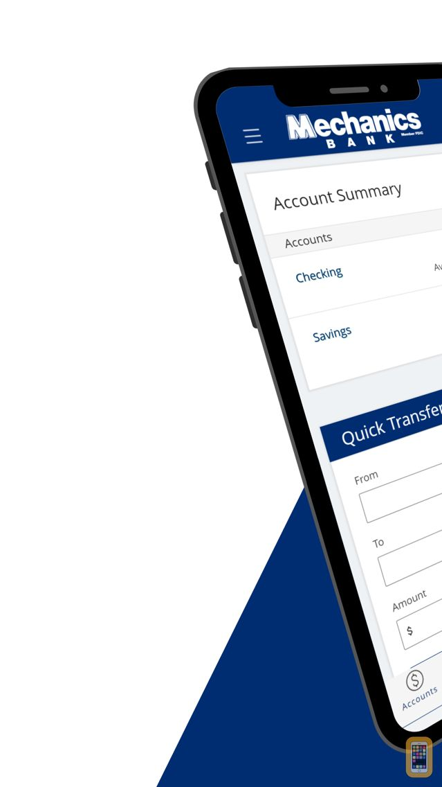 Screenshot - Mechanics Bank-Mobile Banking