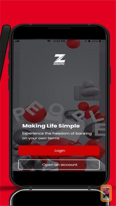 Screenshot - Zenith Bank eaZymoney