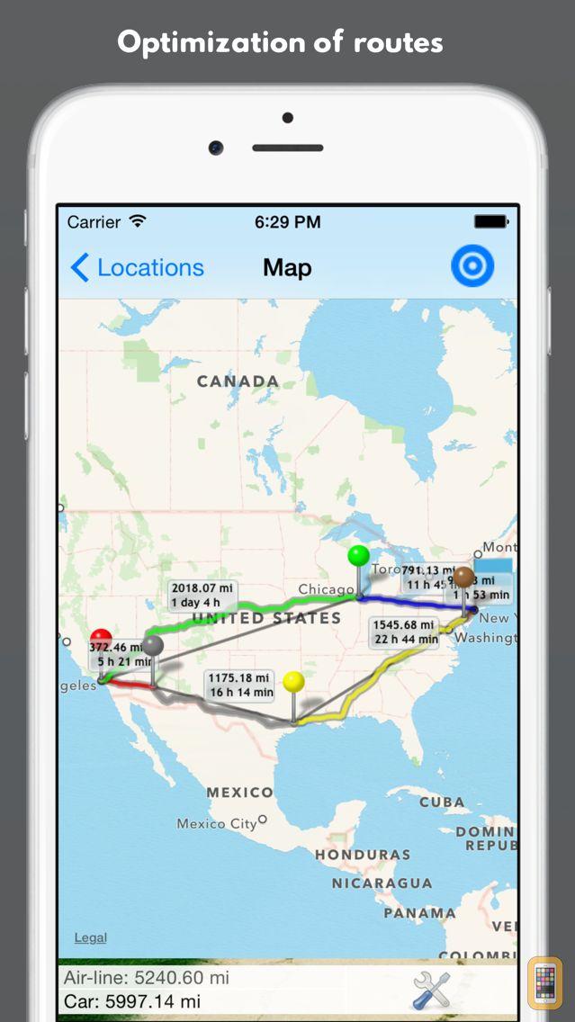 Screenshot - Best Route Optimizer Pro